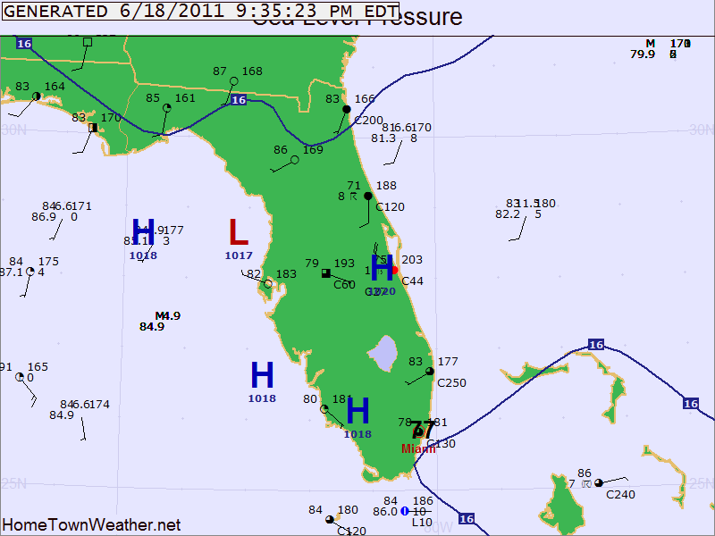 Florida State Weather Map SunCam.tv  Custom Live Maps Updated Daily
