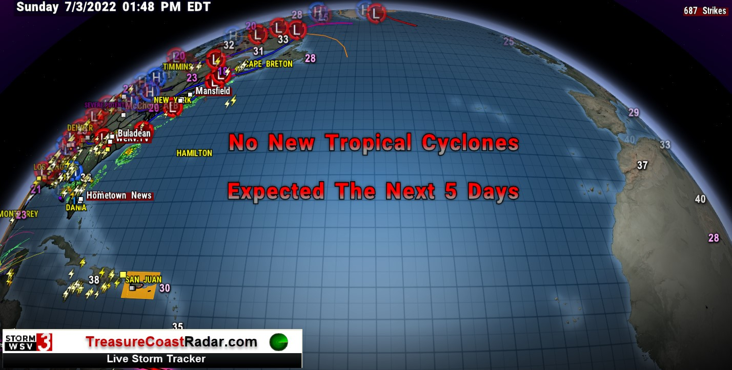 Current Atlantic Active Systems