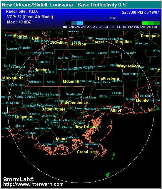 Dopler Radar For Fort Meyers Beach